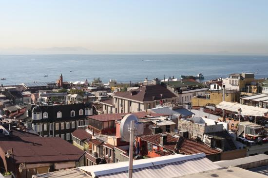 Antique Hostel - Guest House: Вид с террасы на крыше