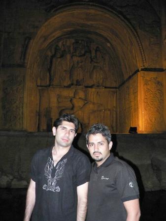 كرمنشاه, إيران: Pouria & Keyvan