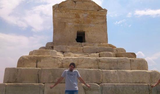 Pasargadae: pouria in persepolis