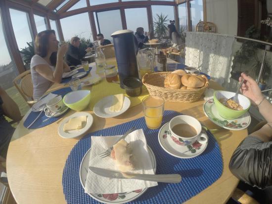 Haus Christine: Breakfast
