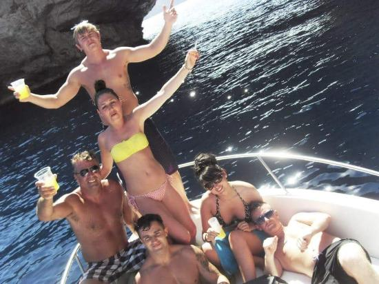 Ibiza Boat Hire: Amazing day out