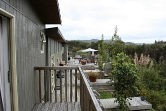 Longhouse Bed and Breakfast: View from King Room