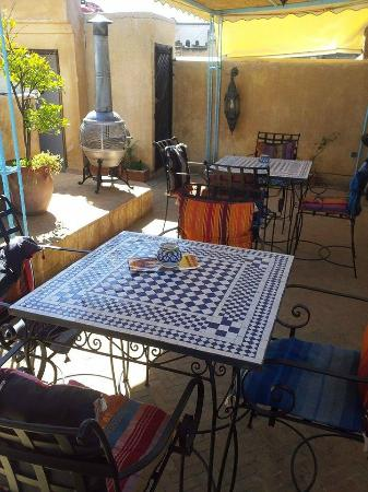 Riad Noujoum Medina : Excelentes vistas desde la terraza