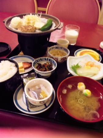 Hotel Hashimoto : 朝食 和食