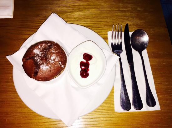 Gianni's Trattoria's chocolate lava