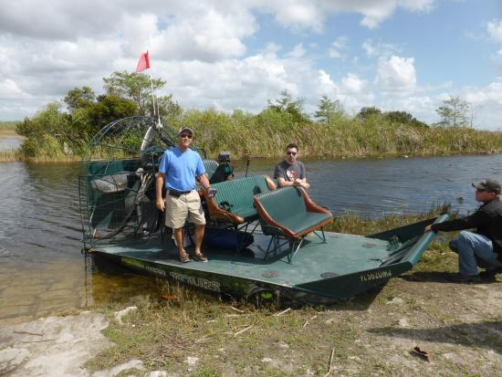 Everglades City, FL: Gary's boat