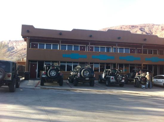 south end picture of big horn lodge moab tripadvisor. Black Bedroom Furniture Sets. Home Design Ideas