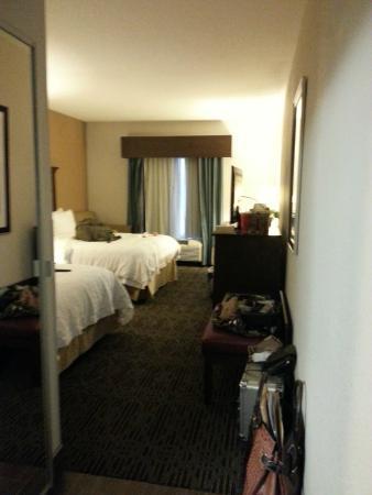 Hampton Inn West Monroe: coming in the room