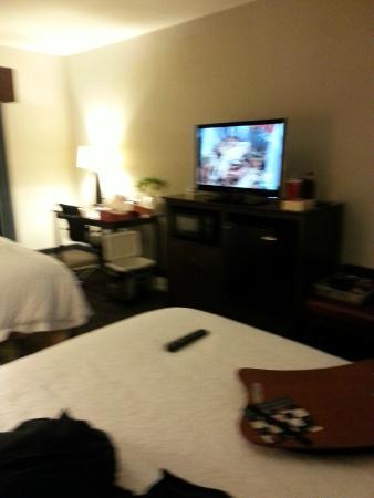 Hampton Inn West Monroe: bedroom area