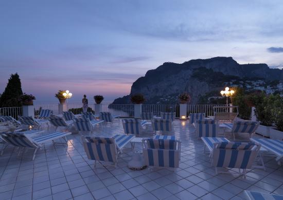 Terrazza Piscina Villa Brunella Capri
