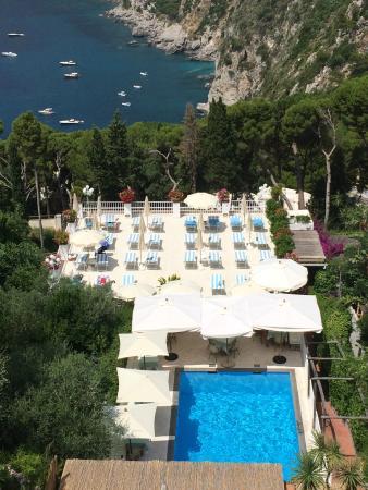 Panorama Villa Brunella Capri