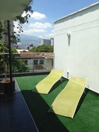 Geo Hostel: Terrace