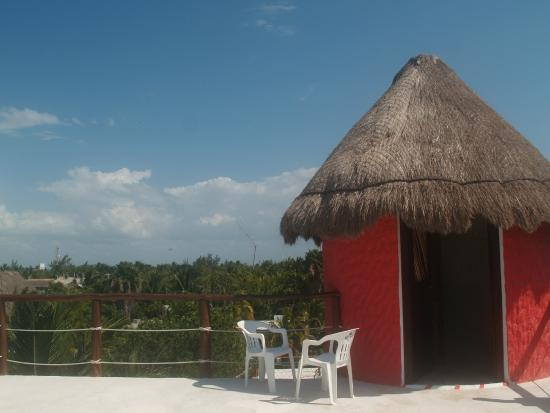 Tribu Hostel: roof