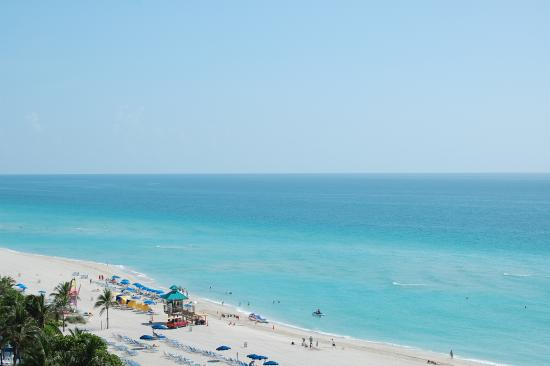 Acqualina Resort & Spa on the Beach: view from room