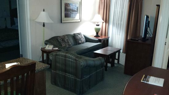 Staybridge Suites Guelph: Living area