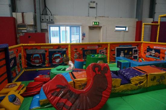Tramore, Ierland: Baby-area, Soft play area. Run Amuck