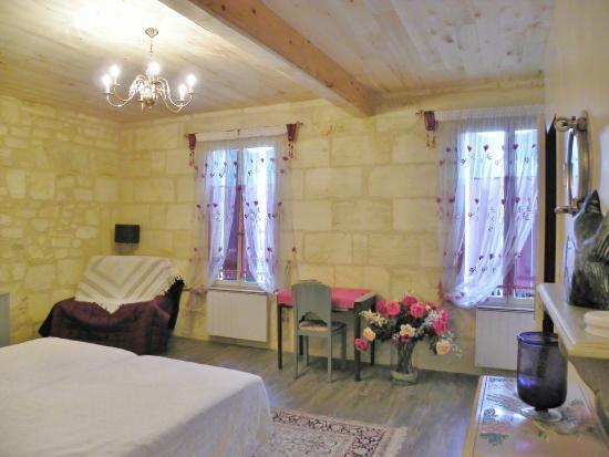 Maransin, France : chambre des hublots