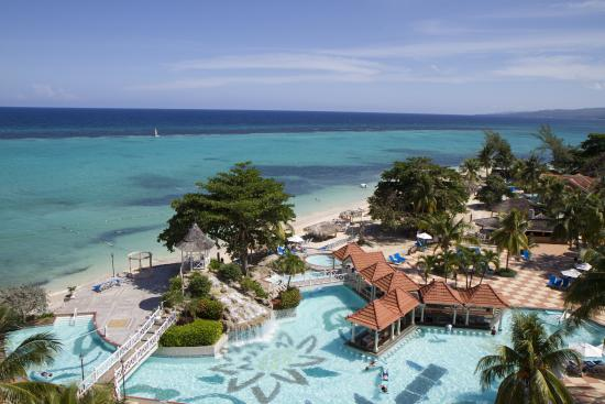 Jewel Dunn's River Beach Resort & Spa: Aerial View