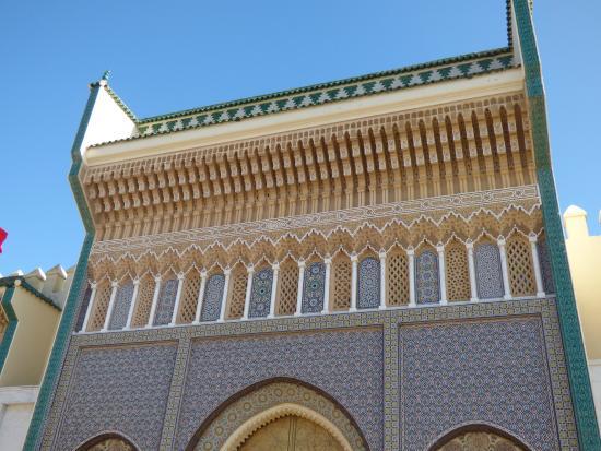 Royal Palace of Fez (Dar el Makhzen) : DETALLE