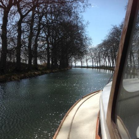 La Souqueto: Our boat trip on the Canal Du Midi