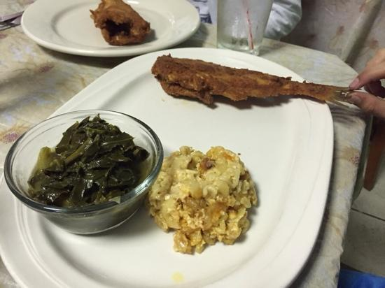 ... fried catfish and greens recipes dishmaps fried catfish and greens