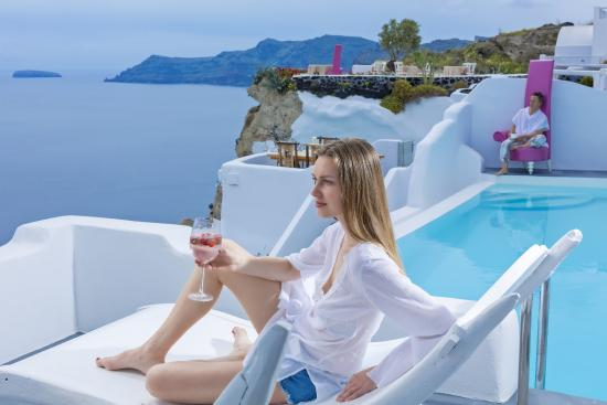 Andronis Luxury Suites : Infinity Pool Suite