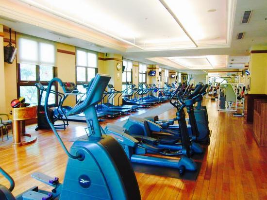 Raffles Town Club's gym