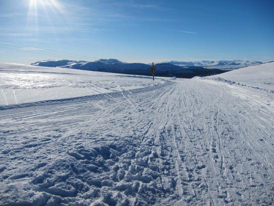 Peer Gynt Ski Region: Track from Bingsbu hut