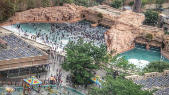 Wonderla Amusement Park: Wave Pool