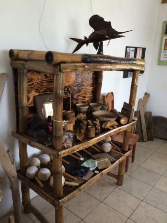 Driftwood Cafe: Local things for sale