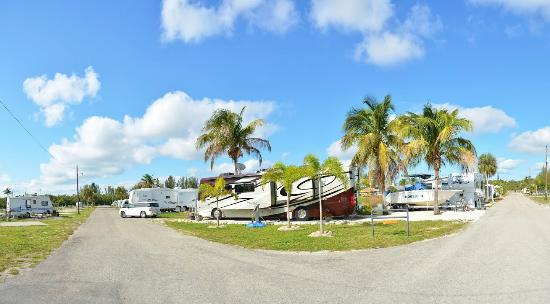 KOA Fort Myers / Pine Island: Campsite