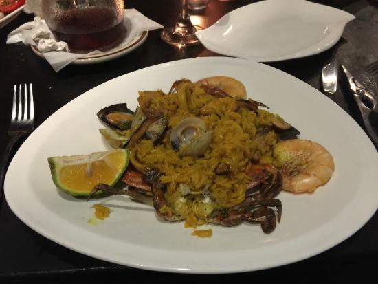 Sabor Espanol: Mmmmmm, paella!!!
