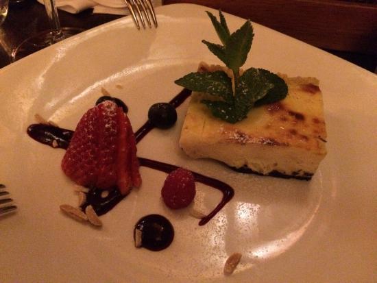 Butcher's American Steakhouse: Einer der besten American Cheesecakes!
