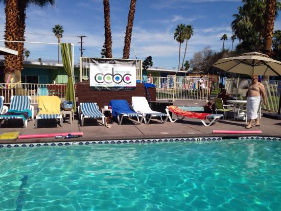 CCBC Resort Hotel: Nice Central Pool and Spas - CCBC Men's Resort in Cathedral City, CA