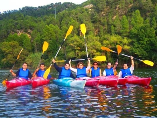 Benifallet, Испания: En otra ocasión volvimos a repetir con más amigos