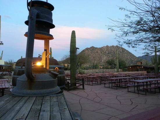 Pinnacle Peak Patio Steakhouse: The Patio Doesnu0027t Open Until April But Is  Beautiful
