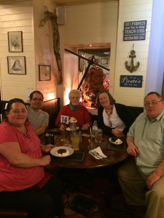 The Buccaneer Inn: Great family get-together with fab food!