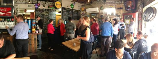 line starting to form - Picture of Saw\'s Soul Kitchen, Birmingham ...