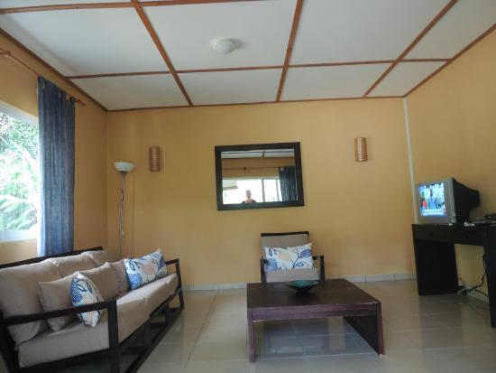 South Point Chalets : Das Wohnzimmer