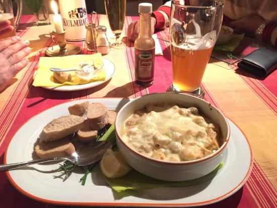 Zur Noll Hotel & Restaurant: Chicken Ragout
