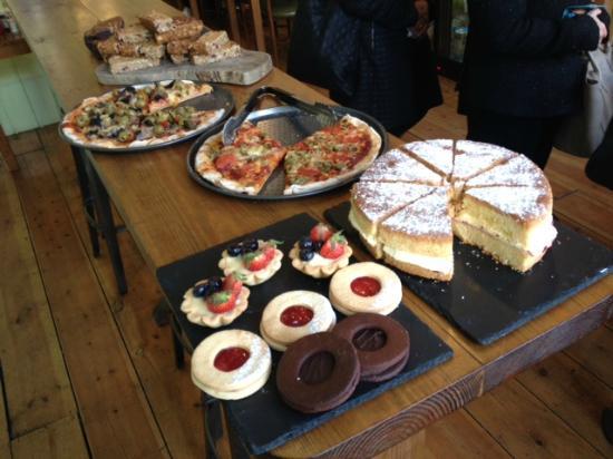 Sugar Free Cake South London Cafe