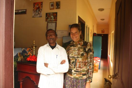 Kaippallil Homestay: Co-manager of homestay