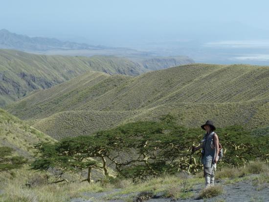 Empakaai Crater : High up 7,000 feet