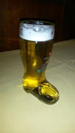 Zum Stiefel: uniek biertje en lekker ook...