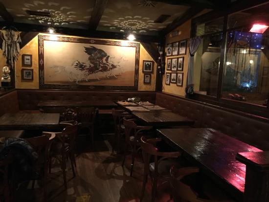 Indian Soul Cafe : Alcuni tavoli