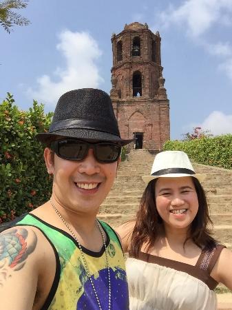 Bantay Bell Tower at noon (March 16, 2015)