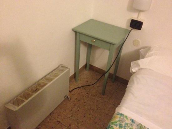 Hotel Arcobaleno : stufa arrugginita
