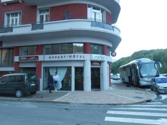 Appart'Hotel Lorda: Frente Apart Hotel Lorda