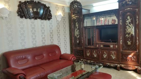 Hoang Lien Hotel: living room