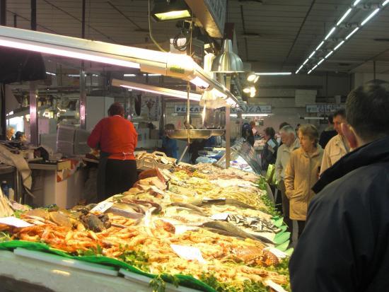 Castellon de la Plana, Spain: Zona pescaderías